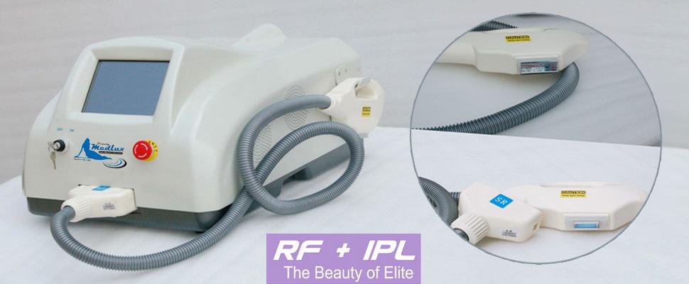 Luce Pultata con radiofrequenza IPL + RF