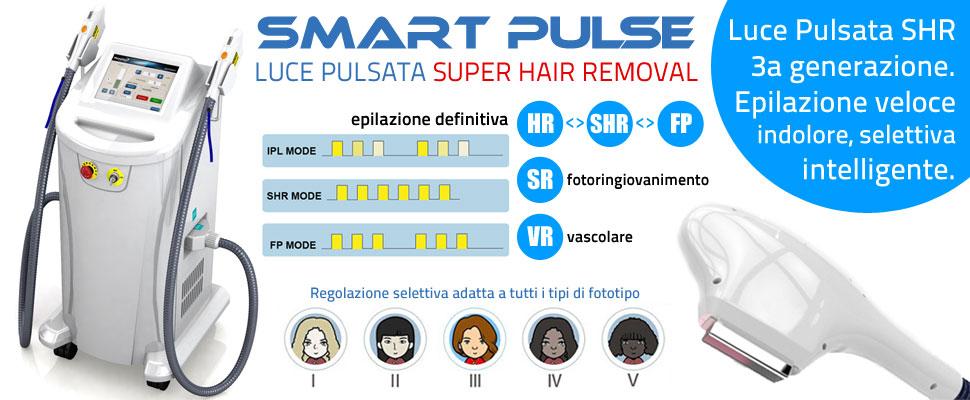Luce Pulsata IPL SHR Smartpulse